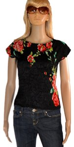 Alberto Makali Top Black / red / green