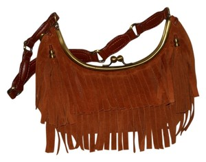 Maxximum Leather Suede Shoulder Bag
