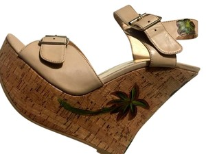 Luichiny Sandal Nude Wedges