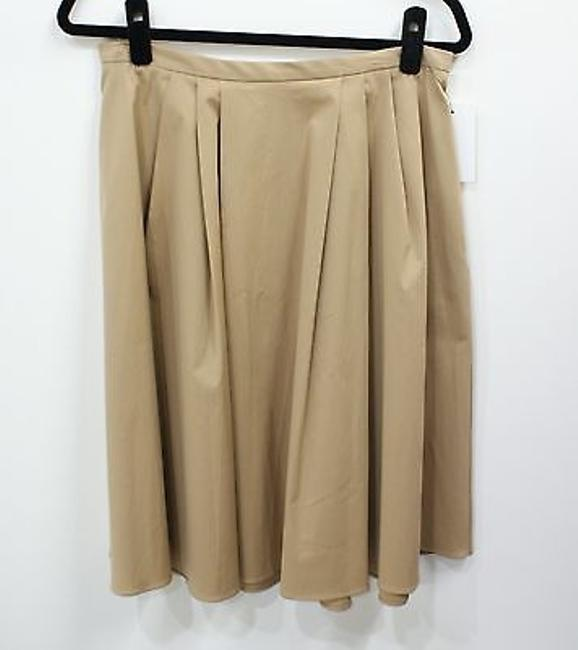 Preload https://img-static.tradesy.com/item/9153421/michael-kors-beige-collection-beigetan-a-line-pleated-knee-length-skirt-size-12-l-32-33-0-0-650-650.jpg