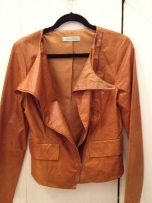 Geren Ford Browns Leather Jacket