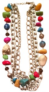 Colorful Multi Layer Necklace