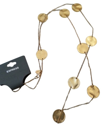 Preload https://img-static.tradesy.com/item/9154834/express-gold-new-coin-like-necklace-0-2-540-540.jpg