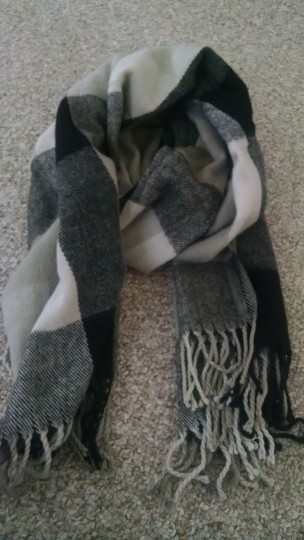 Other Checkered blanket scarf