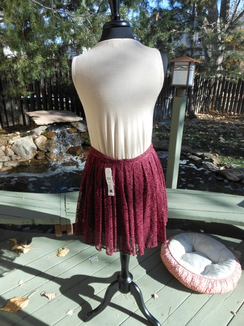 Willow & Clay Mini Skirt Port with gold acsents