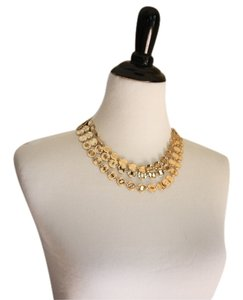 Talbots Talbots Gold Disc Necklace