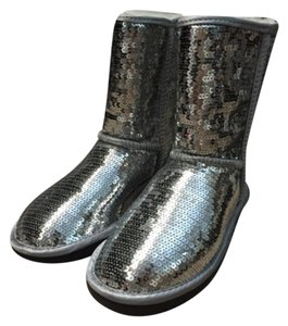 UGG Australia Silver Boots