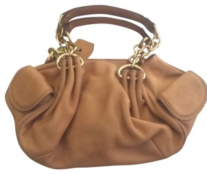 Juicy Couture Satchel in Nude