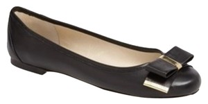 Michael Kors Leather Leather Black Leather Flats