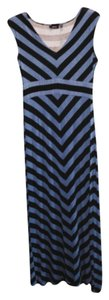 Royal blue/black Maxi Dress by Apt. 9