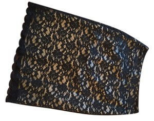 Banana Republic Lace Banana Skirt Black Lace