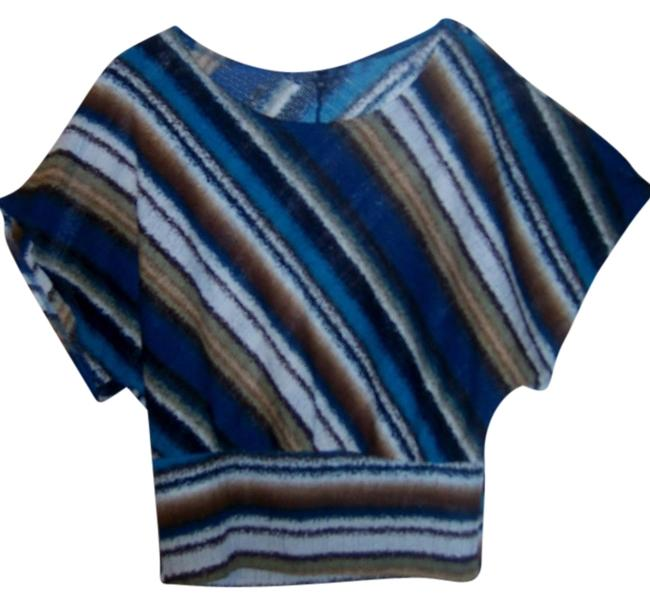 Item - Multicolor Dolman Sleeves Combine Shipping Blouse Size 20 (Plus 1x)