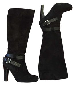 Other Knee High Suede Suede Suede Black Boots