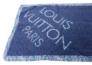 Louis Vuitton LOUIS VUITTON SILK LONG PRINTED SCARF