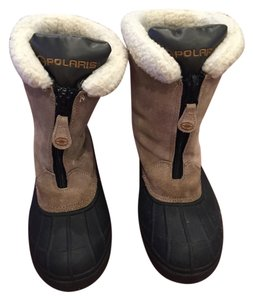 Solaris Snow Waterproof Beige Boots
