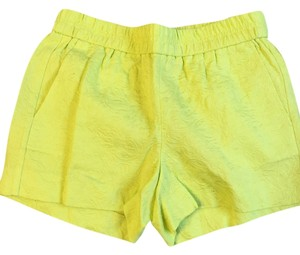 J.Crew Mini/Short Shorts Chartreuse (neon green/yellow)
