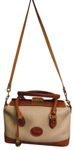 Dooney & Bourke & Doctor Strawberry Fields Creme Travel Bag