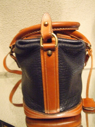 Dooney & Bourke Leather Navy Travel Bag