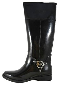 Michael Kors New Rubber Rain Black Boots