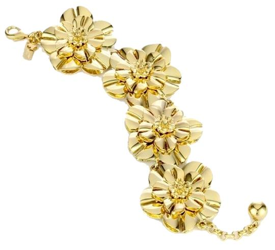 Kate Spade Amazing Timeless Flower Chain! Kate Spade Swim Team Bracelet NWT RARE! Beautiful 12K Gold Over Brass - Incredibly Crafted for Timeless Heirlooms!