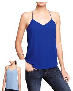 Express Tank Tank Top Cobalt Blue/Green