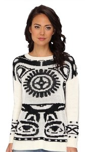 MINKPINK Mink Pink Ethnic Tribal Sweater