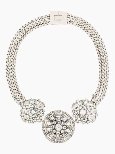 Kate Spade Icy Aloof Chic! Modern Urban Industrial Merges With Classic Glam! Kate Spade Ice Queen Necklace NWT RARE BRAND NEW! Urban Cool!