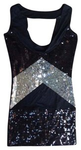 bebe Cocktail Sequin New Years Dress