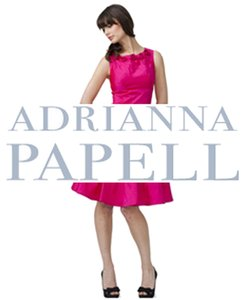 Adrianna Papell Ruffle Frills Evening Tiered Dress