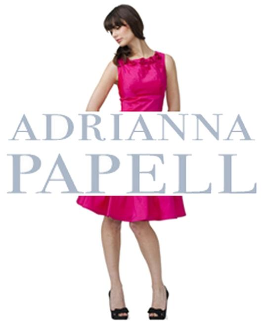 Adrianna Papell Ruffle Frills Evening Tiered Shutter Dress