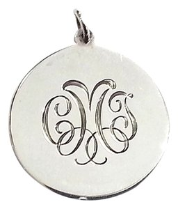 Tiffany & Co. Tiffany & Co Sterling Silver Initial Tag Pendant