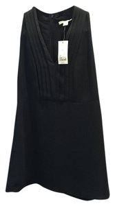 Banana Republic Silk Banana Top Black