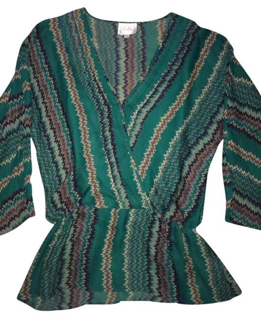 Preload https://img-static.tradesy.com/item/9160213/parker-green-silk-blouse-size-2-xs-0-4-650-650.jpg