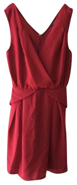 Preload https://img-static.tradesy.com/item/9160489/tinley-road-red-v-neck-party-mid-length-cocktail-dress-size-2-xs-0-1-650-650.jpg