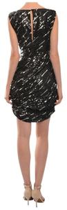 Alice + Olivia short dress Black/Silver on Tradesy