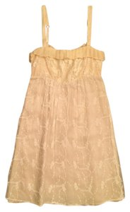 Anthropologie short dress Lace Silk Babydoll Bridesmaid on Tradesy