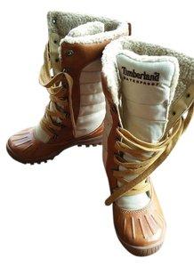 Timberland Mount Holly Water-repellant Brown Tan Beige Boots