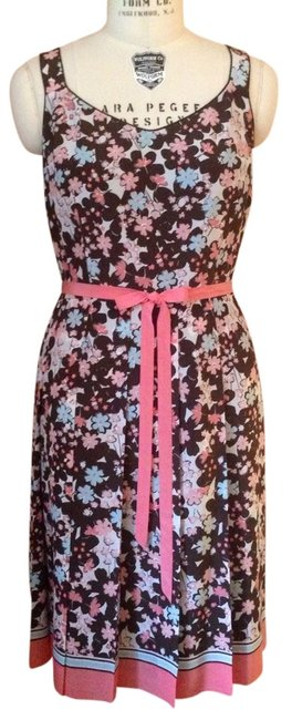 Preload https://img-static.tradesy.com/item/916155/ann-taylor-loft-floral-silk-with-striped-border-knee-length-workoffice-dress-size-14-l-0-0-650-650.jpg