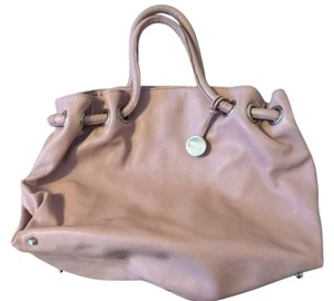 Furla Leather Carmen Satchel in Pink