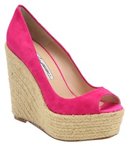 Brian Atwood Pink Wedges
