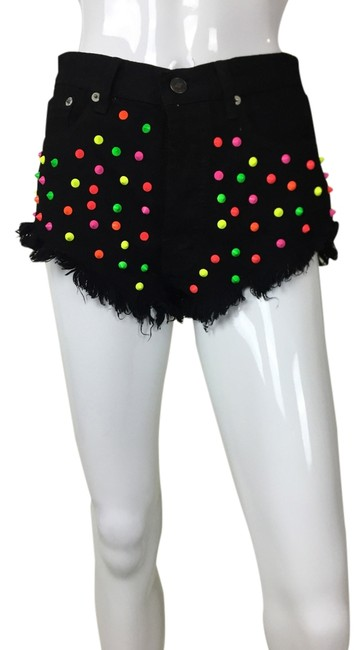 Preload https://img-static.tradesy.com/item/916294/multicolor-studded-color-spike-cut-off-shorts-size-4-s-27-0-0-650-650.jpg