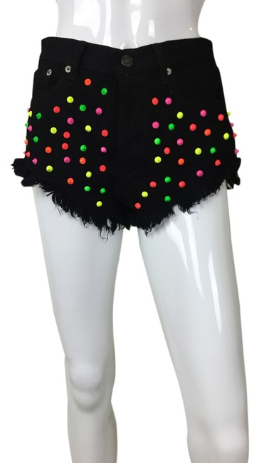 Preload https://img-static.tradesy.com/item/916295/multicolor-studded-color-spike-cut-off-shorts-size-8-m-29-30-0-0-650-650.jpg