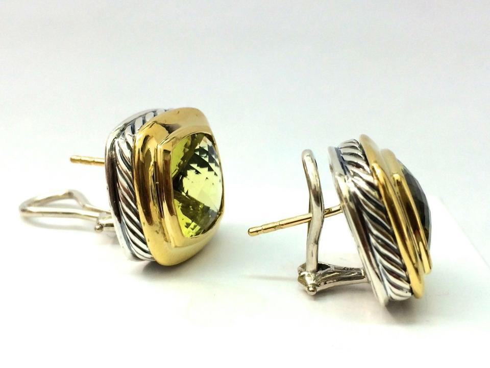 totalling approx reserve a yellow earrings kt kavels citrine no drop pair of lemon gold ct