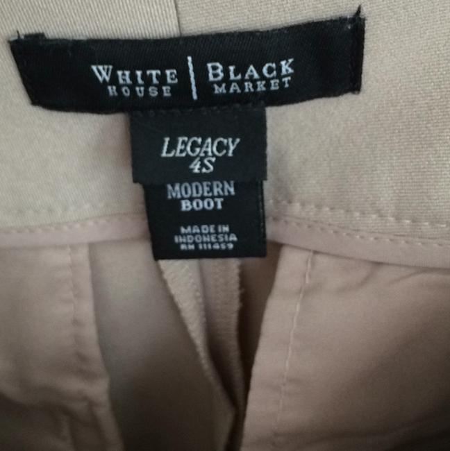White House | Black Market Flare Pants Beigh