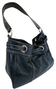 Talbots Patent Leather Hobo Bag