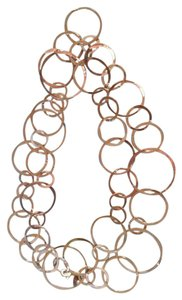 Express Silver Variable Sizes Circle necklace