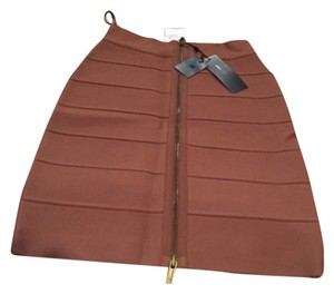 BCBGMAXAZRIA Skirt Toffee