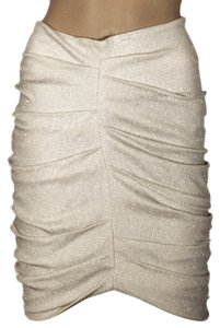 Yigal Azrouel Skirt Optic/ Silver