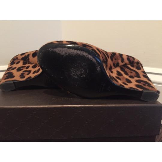 Gucci Leopard Wedges Image 3