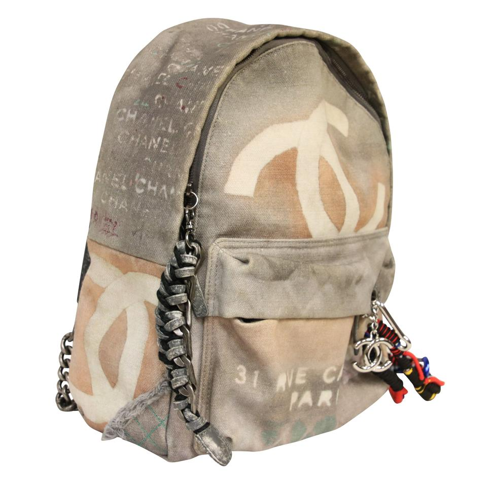53855d5d8ab813 Art School Oh My Boy Flap Bag Graffiti Canvas. USD $3,320.00. Chanel  Graffiti Canvas Art School Small Backpack